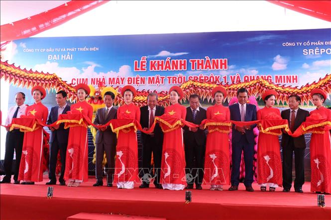 Vietnam's biggest solar power complex inaugurated in Central
