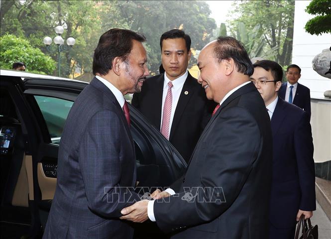 PM meets Sultan of Brunei - VNA Photos - Vietnam News Agency