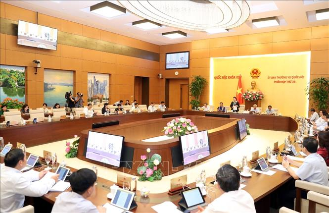 Photo: An overview of the session. VNA Photo: Trọng Đức