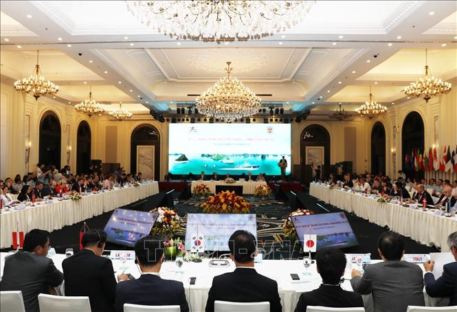 Photo: A view of the opening ceremony. VNA Photo: Phạm Hậu