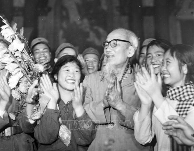Kỷ Niệm 130 Năm Ngay Sinh Chủ Tịch Hồ Chi Minh 19 5 1890 19 5 2020 Tinh Cảm đặc Biệt Của Bac Hồ Với Quan đội Nhan Dan Việt Nam ảnh Chuyen đề