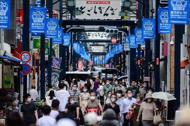 COVID-19: Thủ đô Tokyo (Nhật Bản) ghi nhận số ca nhiễm mới trong một ngày  cao nhất - Ảnh thời sự quốc tế - Văn hóa xã hội - Thông tấn xã